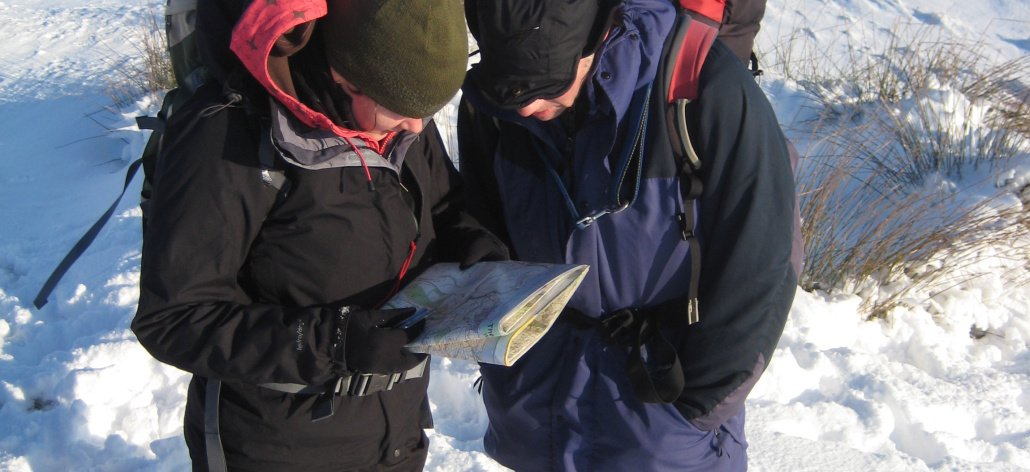 Hill Skills Navigation training