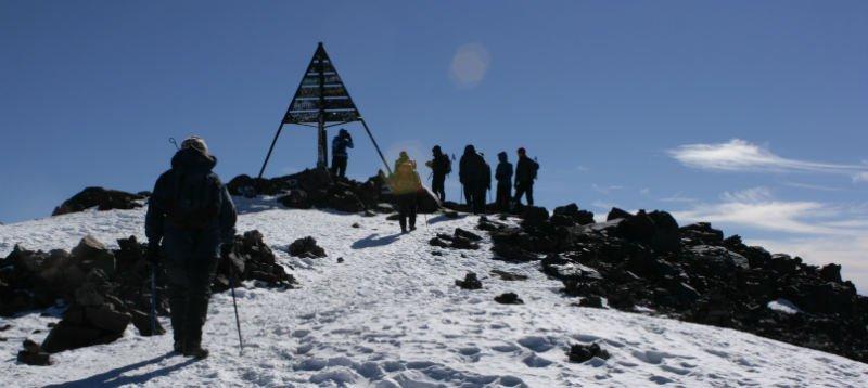Morocco Jebel Toubkal trek