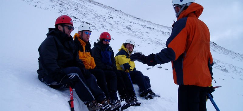 Winter skills Scotland