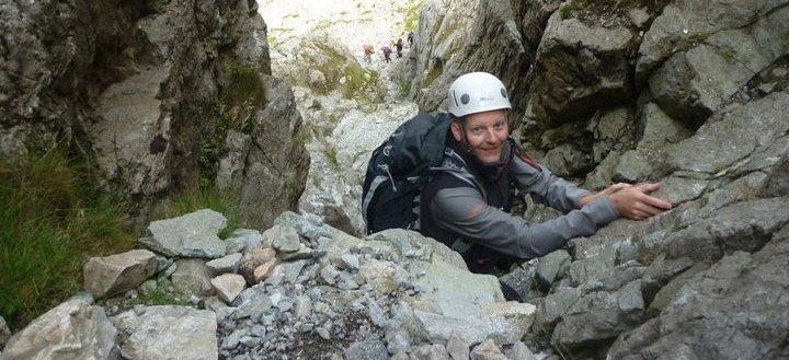 Bristly Ridge Snowdonia