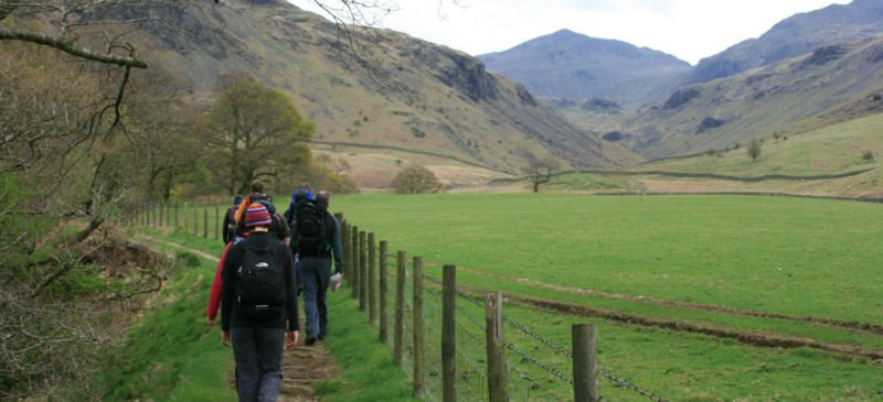Lake District guided walking