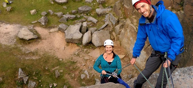 Peak District Rock Climbing courses