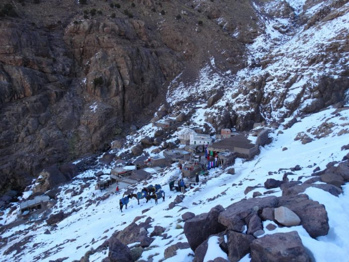 Morocco High Atlas mountains trek