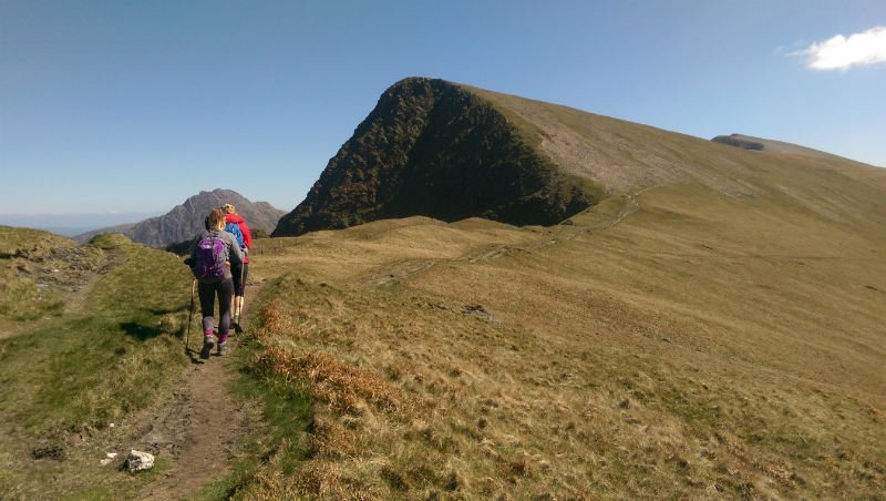 image of walking in Snowdonia